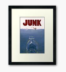 Junk Framed Print