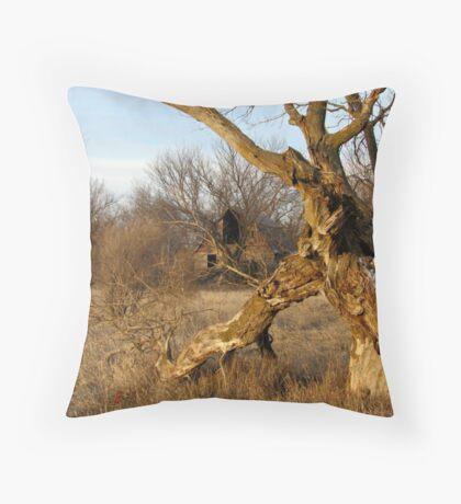 Gnarley Farm Throw Pillow