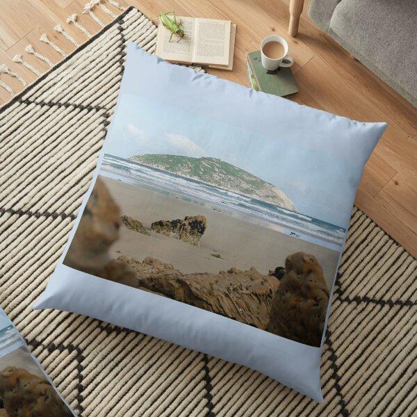 Shellback Island  Floor Pillow