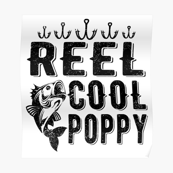 Download Fishing Poppy Posters Redbubble
