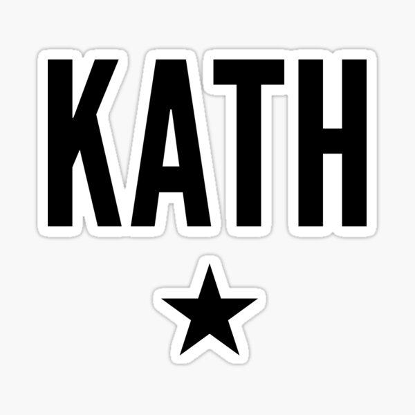 Kath is a Star Sticker