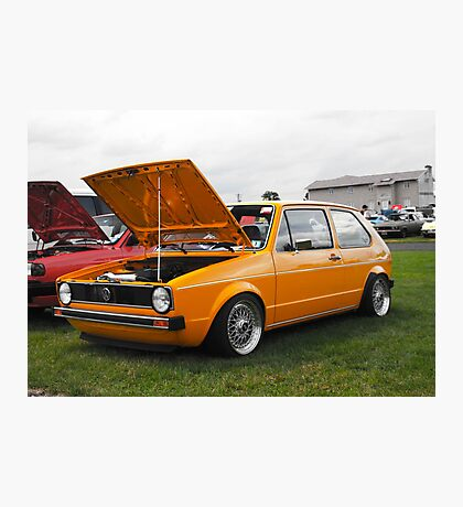 VW GOLF Photographic Print