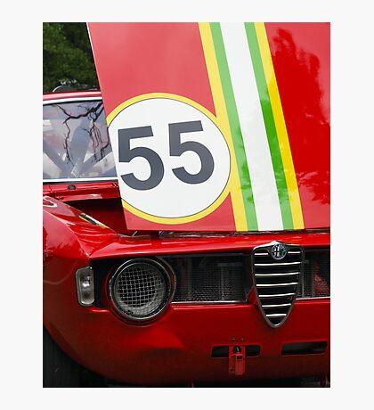 Alfa Romeo GTV Photographic Print