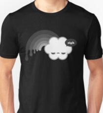 Seufzer-Regenbogen Unisex T-Shirt