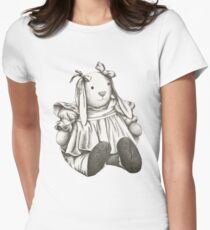 Bunny Rabbit Womens Fitted T-Shirt