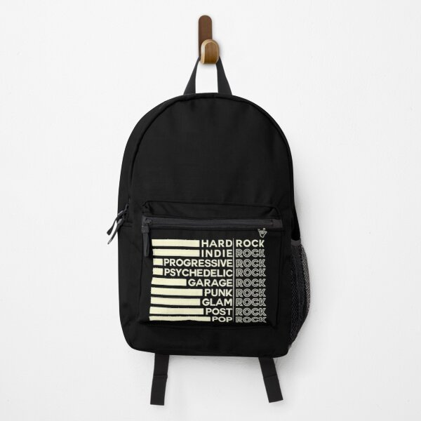 All rock styles, for all rock lovers Backpack