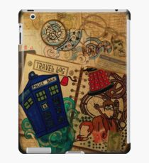Doctor Who Travel Log  iPad Case/Skin