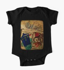 Doctor Who Travel Log  Kids Clothes