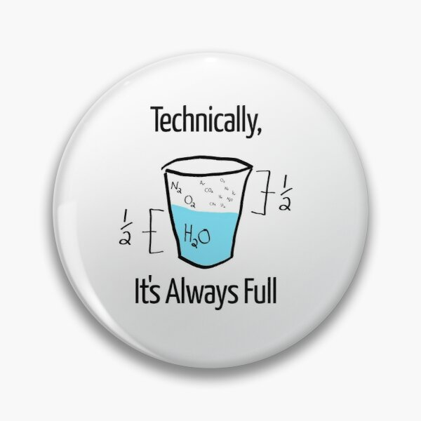 Science is Optimistic Pin