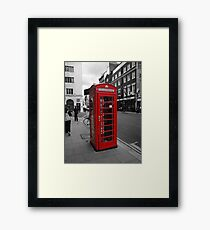 Red Telephone Kiosk Framed Print