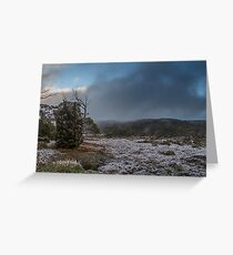 Snow at Windermere Greeting Card