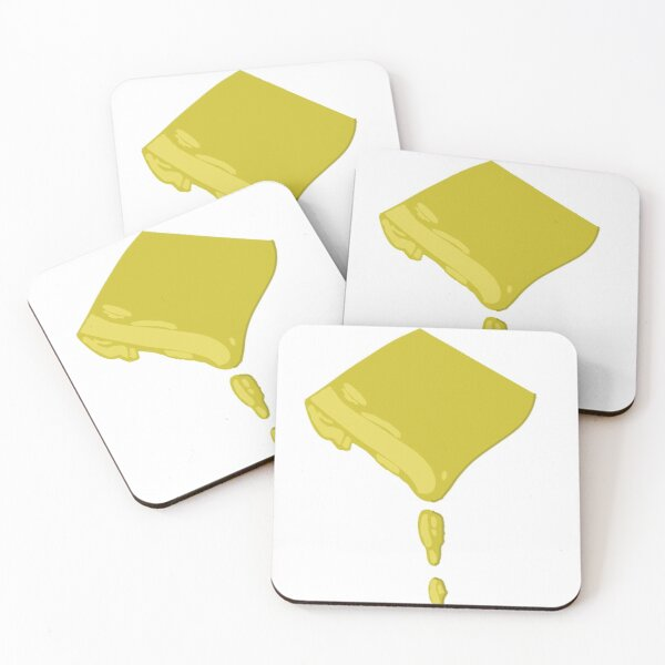Melted cheese Coasters (Set of 4)