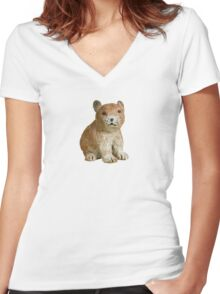 Pika Women's Fitted V-Neck T-Shirt