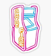 Arcade Fire Neon Sticker