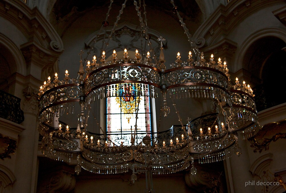 St. Stephen's Chandelier by phil decocco