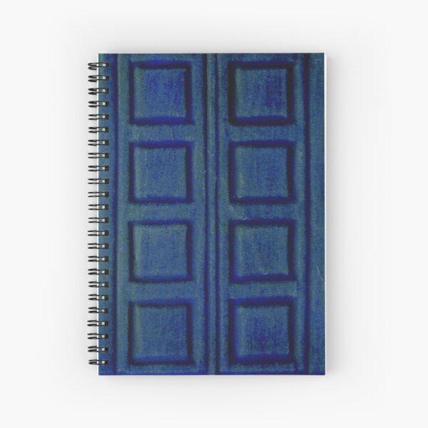 Blue Book Spiral Notebook