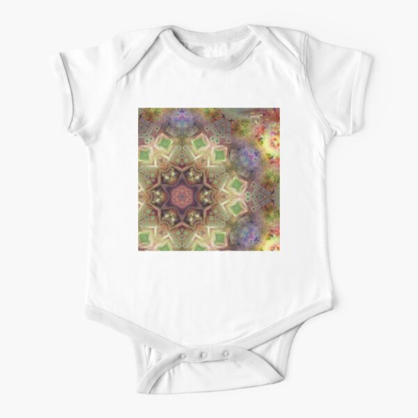 Crystalline Reflections 14 Short Sleeve Baby One-Piece
