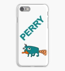 Perry the Platypus iPhone Case iPhone Case/Skin