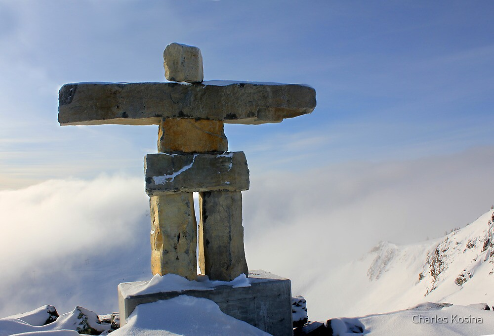Inuksuk at Whistler by Charles Kosina