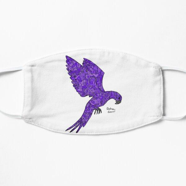 Purple Robot Bird Mask