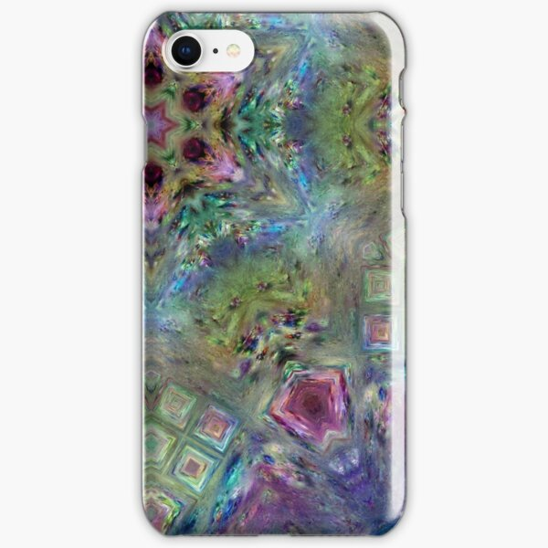 Crystalline Reflections 8 iPhone Snap Case
