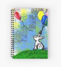 Lost Balloon Spiral Notebook