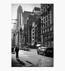 Lámina fotográfica Fifth Avenue in Sun Looking South
