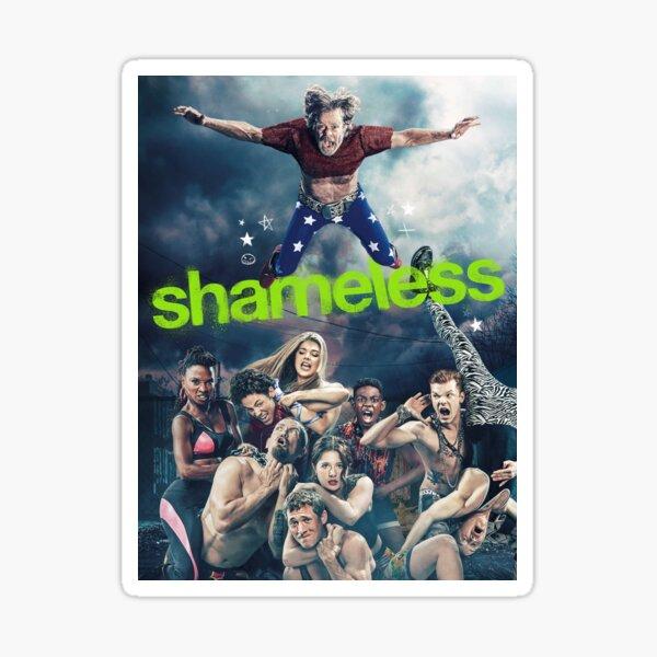 Shameless Poster Sticker