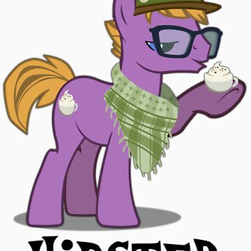 Hipster Guy by bronydoc