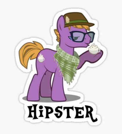 Hipster Guy Sticker