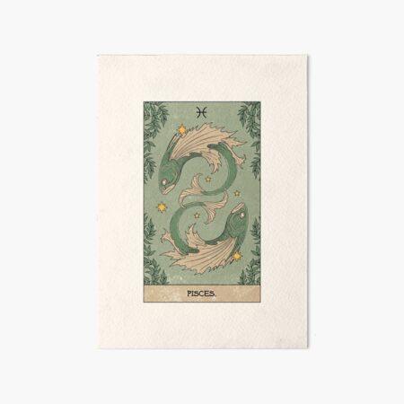 Pisces Art Board Print