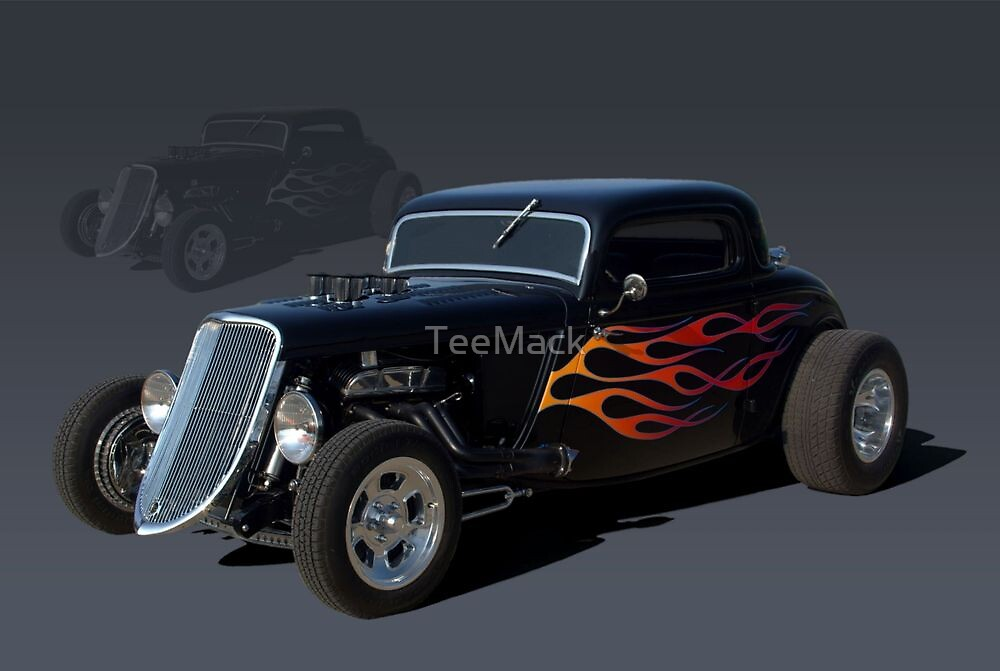 1934 Ford Custom Hot Rod by TeeMack