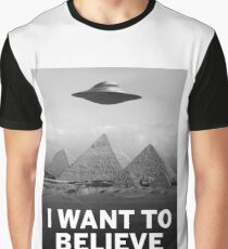 Want2Believe (Giza) Graphic T-Shirt