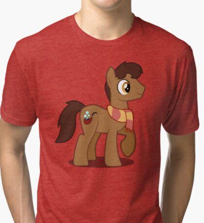 Moderate Guy (no text) Tri-blend T-Shirt