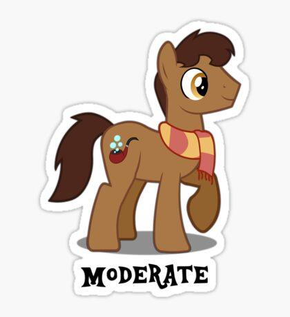 Moderate Guy Sticker
