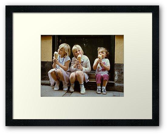 Ice Cream time, 1980s by David A. L. Davies