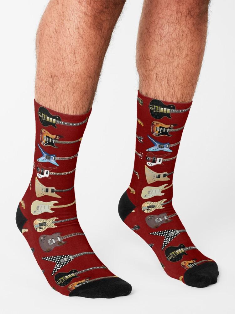 Alternate view of GUITARS Socks