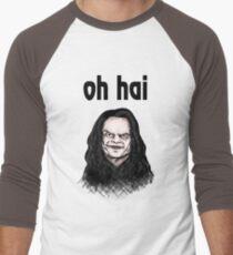"""""""Oh Hai""""  Men's Baseball ¾ T-Shirt"""