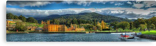 For The Term of Their Natural Life -  Port Arthur World Heritage Area - The HDR Experience by Philip Johnson