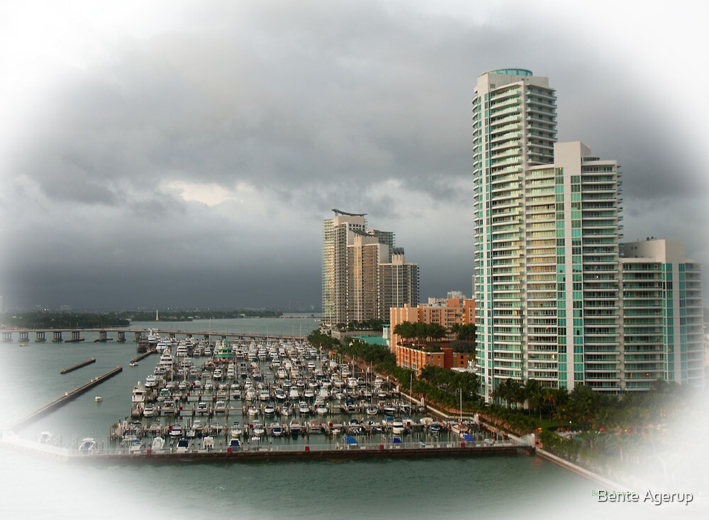 Miami II by Bente Agerup