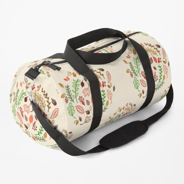 Fall Leaves and Vines Duffle Bag