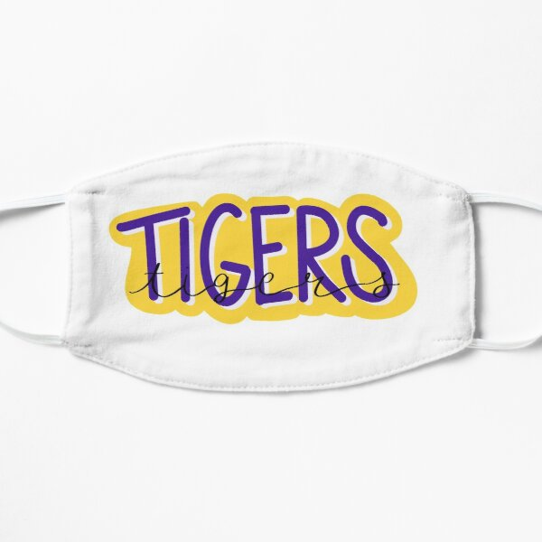 Tigers with script on white Mask