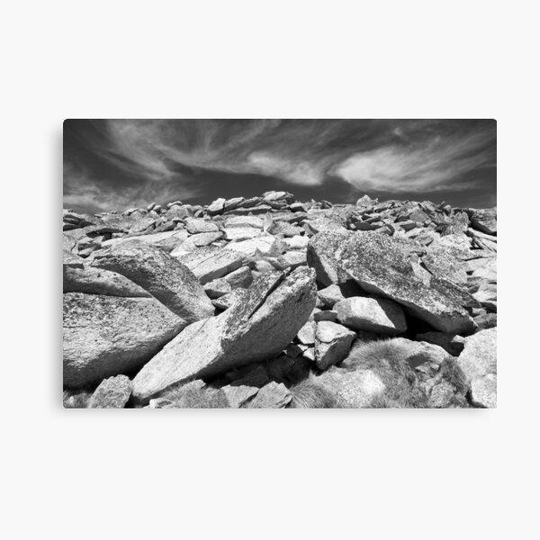 Kosciuszko Rock Canvas Print