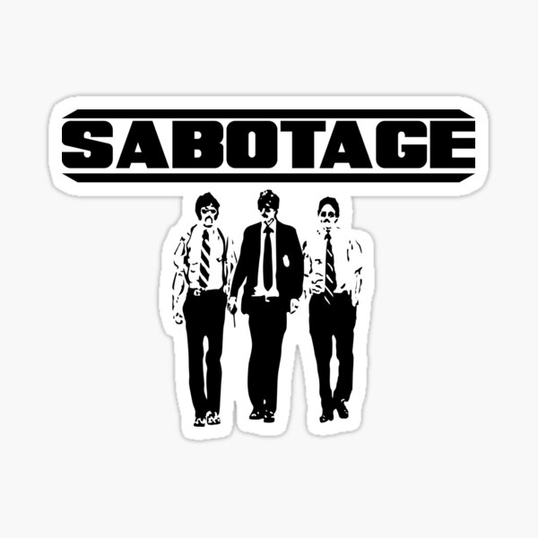 Sabotaje de Beastie Boys Pegatina