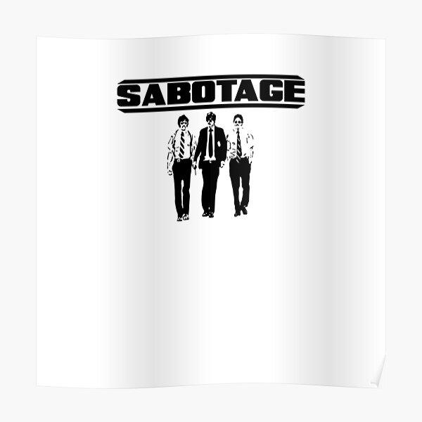 Beastie Boys Sabotage Poster