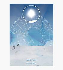 Explorers - Amundsen Photographic Print