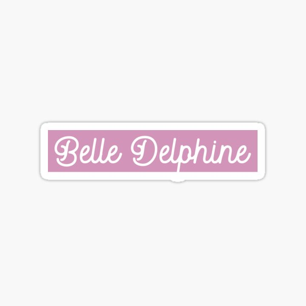 BELLE DELPHINE - GAMER GIRL PINK  Sticker