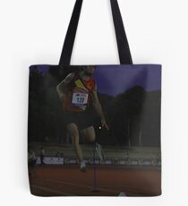 Adelaide Track Classic 2013 - Long Jump 8 Tote Bag