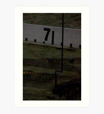 Adelaide Track Classic 2013 - Long Jump 11 Art Print