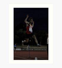 Adelaide Track Classic 2013 - Long Jump 16 Art Print